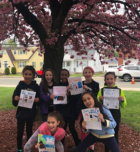 Beatrice Gilmore students create Earth Day Challenge
