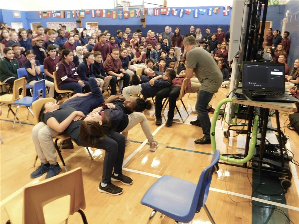 Assembly at Memorial focuses on natural highs