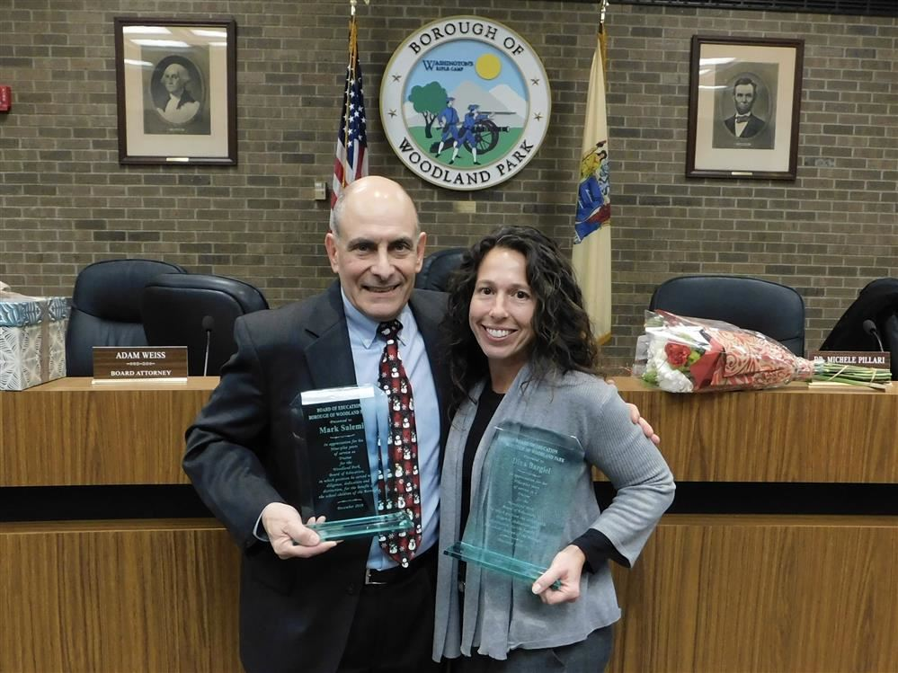 Board salutes two outgoing trustees