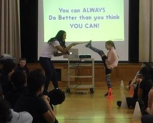 District schools kick off kindness challenge