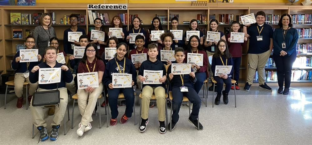 Two student teams qualify for nationals in virtual math tournament