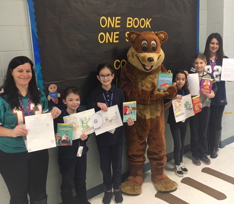 """One School, One Book"" program concludes"