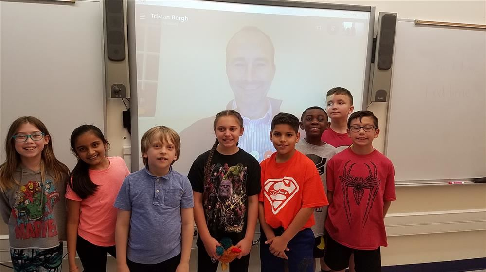 STRIVE students Skype with data scientist