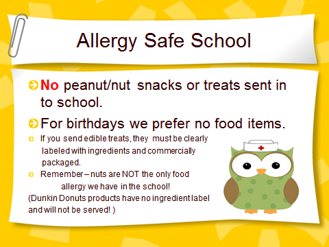 ALLERGY SAFE SCHOOL